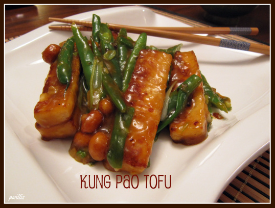 Kung Pao Tofu | She's Cookin' | from the heart
