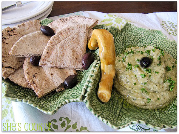 Greek Eggplant Spread-3