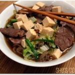 h Tofu and Shirataki Noodles