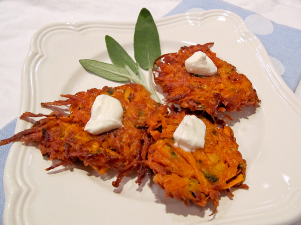Sweet Potato Latkes, Hanukkah traditions
