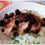 Grilled Pork Tenderloin with Cherry Relish2