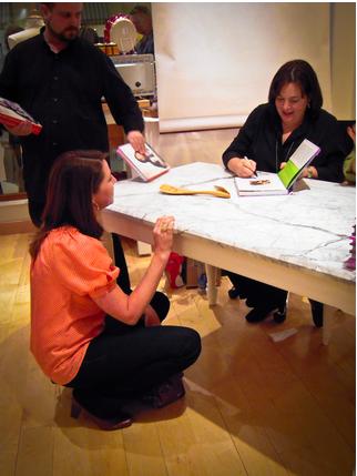 Ina Garten book signing
