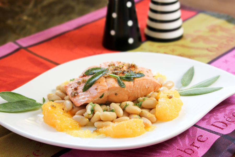 Note: I used wild troll-caught Coho Salmon from Santa Monica Seafood ...