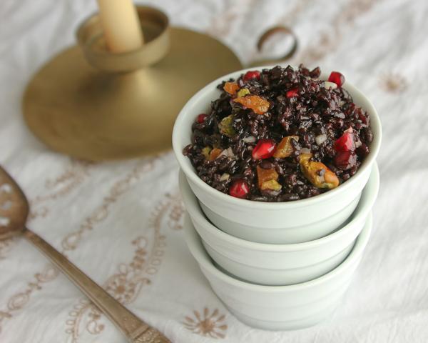 Jeweled Forbidden Rice |Shescookin.com