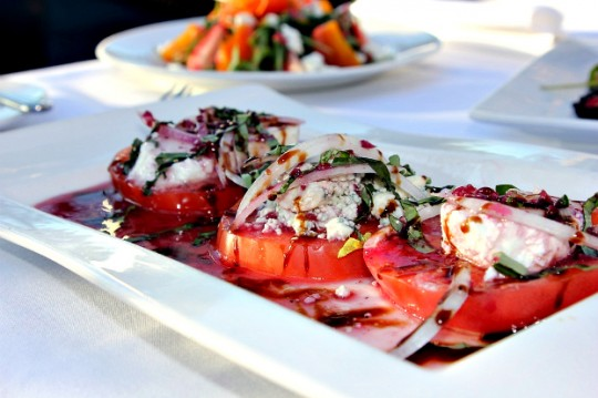 Savannah Chophouse Heirloom Tomato Salad