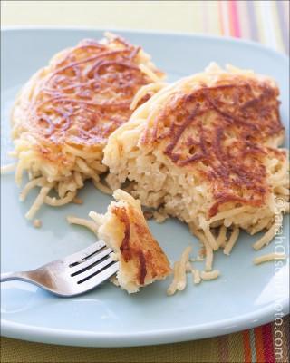 spaghetti pancake