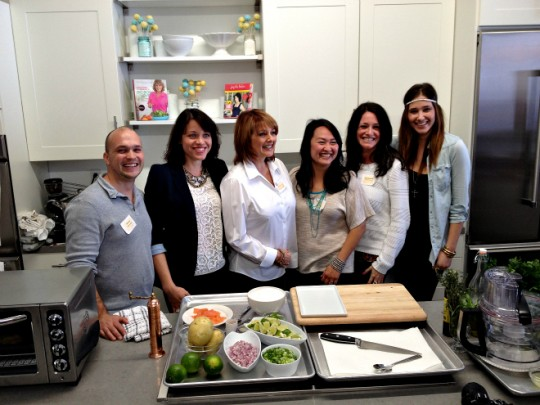 Kitchen Aid blogger event, Cristina Ferrare, Joy the Baker, White on Rice couple
