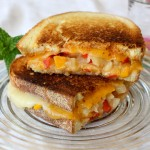 Tillamook cheese, mango and chipotle grilled cheese, grilled cheese