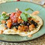 Sweet Potato, Poblano, and Black Bean Tacos