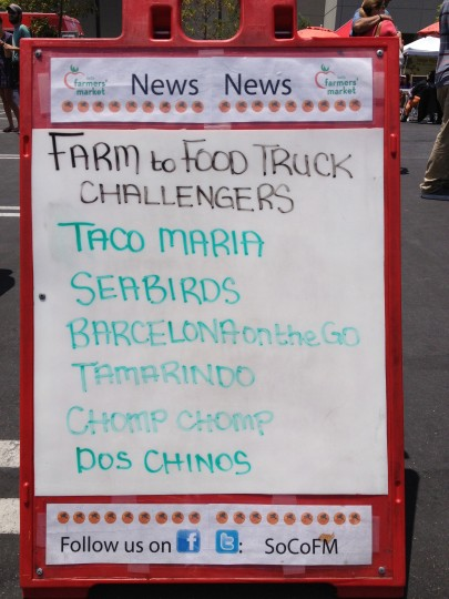 Farm to Food Truck Challengers