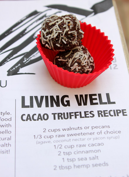 cacao truffles, vegan truffles, raw vegan truffles, 118 degrees