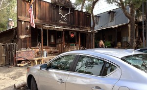 Acura ILX, The Old Place restaurant, Malibu day trip