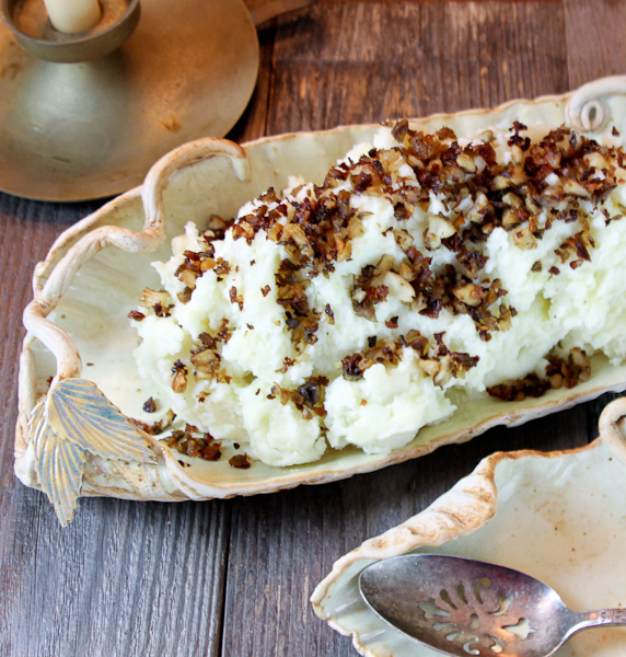 truffled mashed potatoes, Idaho potatoes