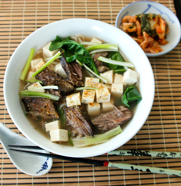 rice noodle soup, udon soup recipe, Asian rice noodle soup