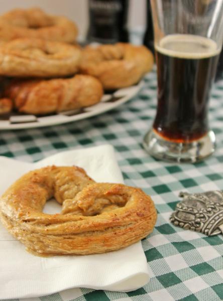 Guinness Pretzels, homemade pretzels, beer pretzels