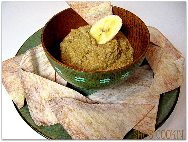 Banana Cashew Hummus-4