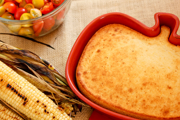 Heart Healthy King Cornbread  | ShesCookin.com