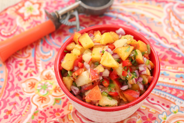 Peach and Nectarine Salsa-7391