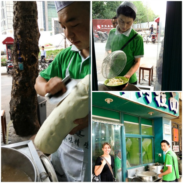 Muslim Noodle shop in Shanghai