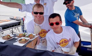 Hard Rock Cafe crew, Del Mar Grill Fest