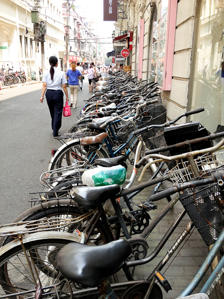 Shanghai bicycles