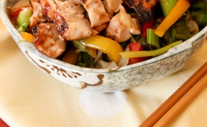 Teriyaki Chicken Shirataki Yakisoba-