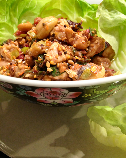Cashew Chicken Lettuce Wraps-8142