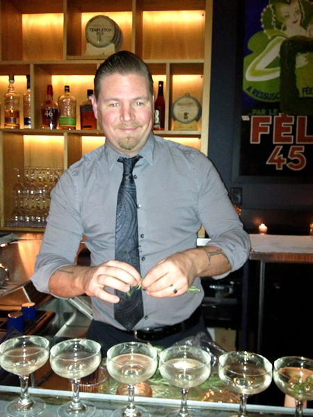 James Wood, mixologist, Scott's Restaurant & Bar, Hopscotch