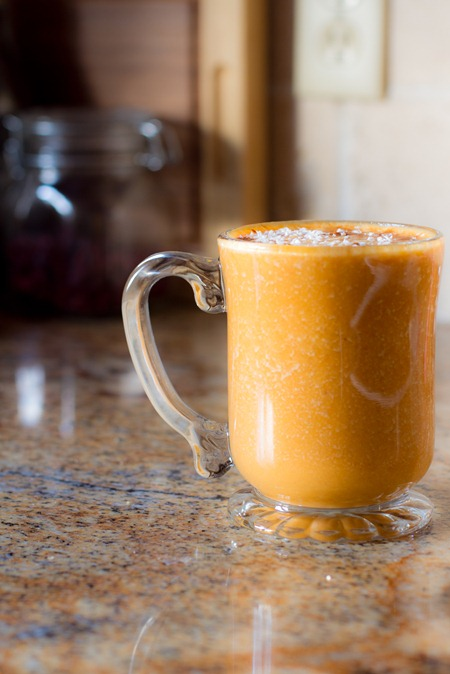 Carrot Cake Smoothie, Oh She Glows