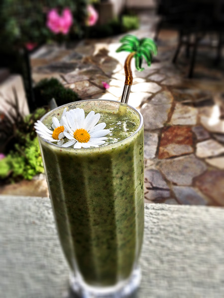 monster green power smoothie, green smoothies