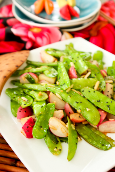 Snow Pea and Radish Stir Fry-9002