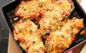 Eggplant Parmesan with Fresh Mozzarella, eggplant parmesan, eggplant parmigiana