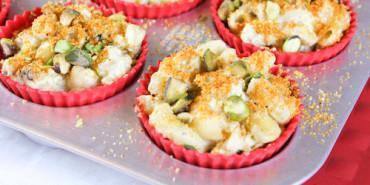 Cauliflower Mac & Cheese Muffins, Low Carb Mac & Cheese, Gluten Free Mac & Cheese