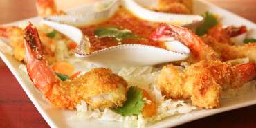 baked coconut shrimp, coconut shrimp
