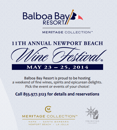 Balboa Bay Resort, Newport Wine Festival