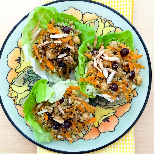 Carrot Quinoa Salad