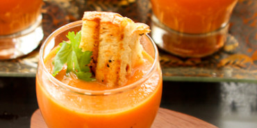Tomato Soup-Grilled Cheese Appetizer
