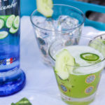 Cucumber Basil Refresher cocktail