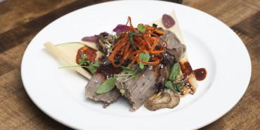 Vegetarian Mushroom and Sweet Potato Tamale