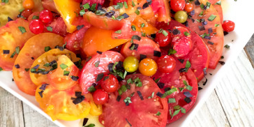 Heirloom Tomato Salad, The Ranch Restaurant and Saloon