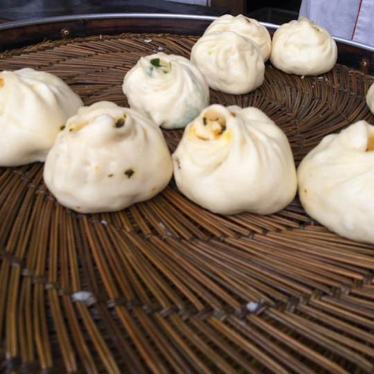 Baozi (Steamed Buns) - Beijing | ShesCookin.com